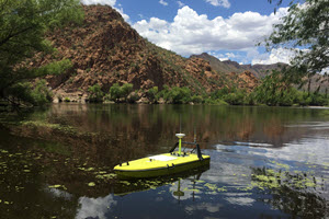 CEE-USV™ Hydrographic Surveying in the Desert.