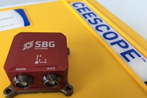 SBG Systems Ellipse2-E INS and WiFi Connectivity Added to CEESCOPE™ for Jet Ski Survey