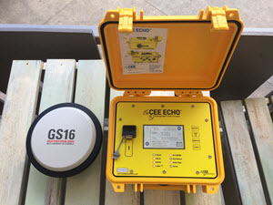CEESCOPE™ and CEE ECHO™ with New Bluetooth GNSS Input Delivered to USACE. New firmware launched in April 2017 activates direct GNSS data input from any Bluetooth-enabled Smart Antenna (eg. Trimble R8, R10, SPS, Leica GS, Hemisphere S320, S321, TopCon Hiper, Topcon GR5) that can output a standard NMEA message over a Bluetooth link. Instead of connecting a serial data output cable between the GNSS serial or USB port to the echo sounder, users may choose to pair the devices using the CEESCOPE touchscreen and operate in wireless mode for RTK, L-Band, or DGPS surveys. The most modern, flexible survey echo sounder just got more flexible! The first three CEE ECHO units with the new firmware were shipped to the Louisville USACE district to replace ageing single beam equipment, through CEE HydroSystems representative Measutronics.