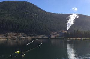 CEE-USV Mine Site Surveying in British Columbia, Canada
