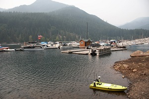 Statewide Land Surveying Use CEE-USV for Oregon Marina Surveys