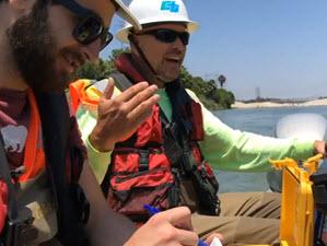 Los Angeles Times – CalTrans use CEE Echo Sounders for Bridge Scour Surveying.