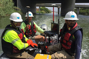 CalTrans Developing New Scour Assessment Methods using Inertial Navigation and GPS.