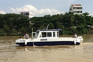 CEE HydroSystems in Myanmar for Hydrographic Survey Training