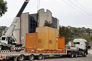 Enormous Environmental Testing Chamber Installed