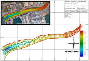 Swathe Services (Truro, UK) conduct bathymetric survey for the Port of Tarragona