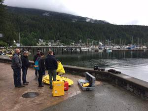 CEESCOPE-USV Training for University of British Columbia (UBC), Vancouver