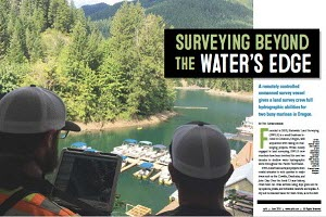 USV Hydrographic Surveying – From the Land Surveyors Perspective