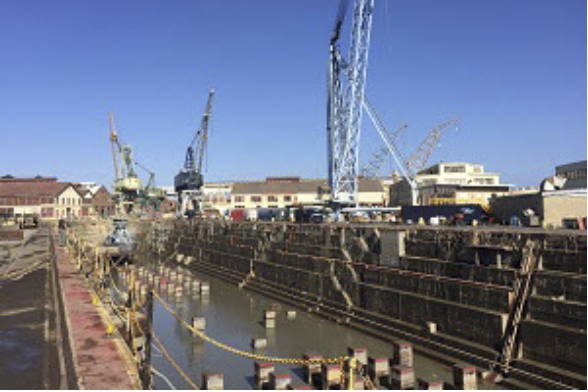 Historic Naval Dockyard Starts Hydrographic Surveys with RTK CEESCOPE™