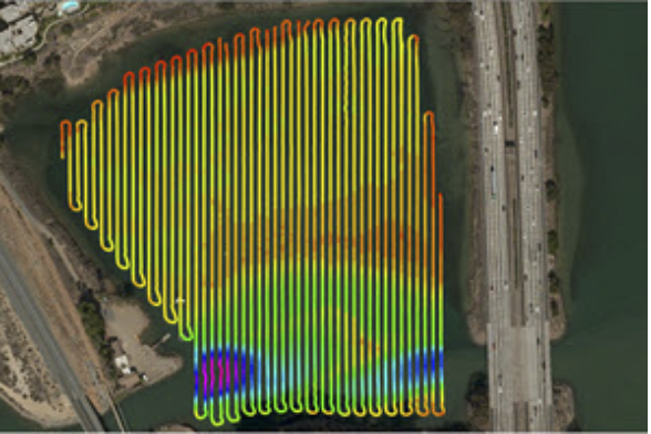 Lagoon Survey with the CEE-PILOT™ Robotic Autopilot