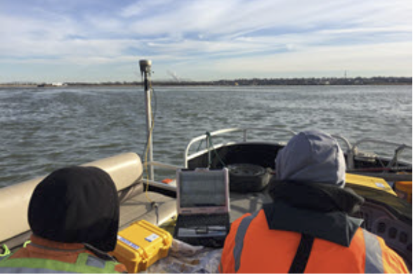 Icy Training with BayLand Consultants & Designers Inc. in Baltimore