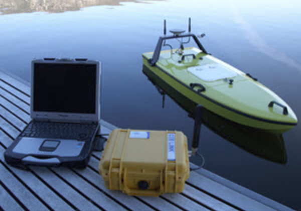 CEE HydroSystems USA Launch CEE-USV™ Remotely-Operated Hydrographic Survey Boat.